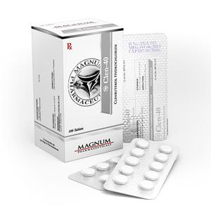 Magnum Clen-40 en vente à anabol-fr.com En France | Clenbuterol hydrochloride (Clen) Online