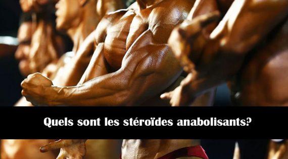 Quels sont les stéroïdes anabolisants?