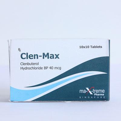Clen-Max en vente à anabol-fr.com En France   Clenbuterol hydrochloride (Clen) Online