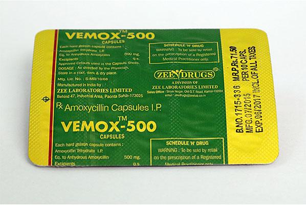Vemox 500 en vente à anabol-fr.com En France | Amoxicillin Online